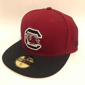 NEW ERA South Carolina GAMECOCKS fitted hat 7 1/4